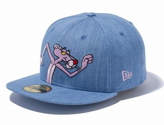cd1c9c94984 Pink Panther Denim 59Fifty Fitted Cap by NEW ERA