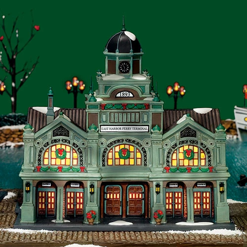 East Harbor Halloween 2020 East Harbor Ferry Terminal in 2020   Christmas in the city
