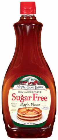 maple grove farms sugar free syrup- Nutrition Facts Serving Size 1/4 cup  (60ml) Amount Per Serving Calories from Fat 0Calories 30 % Daily Values*  Total Fat ...