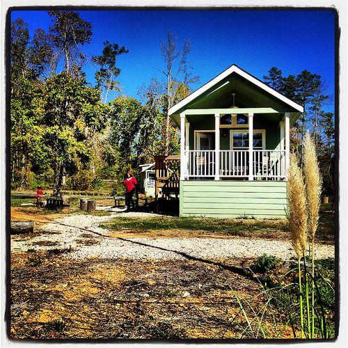 Cabin Catherine S Landing Camping Resort Hot Springs
