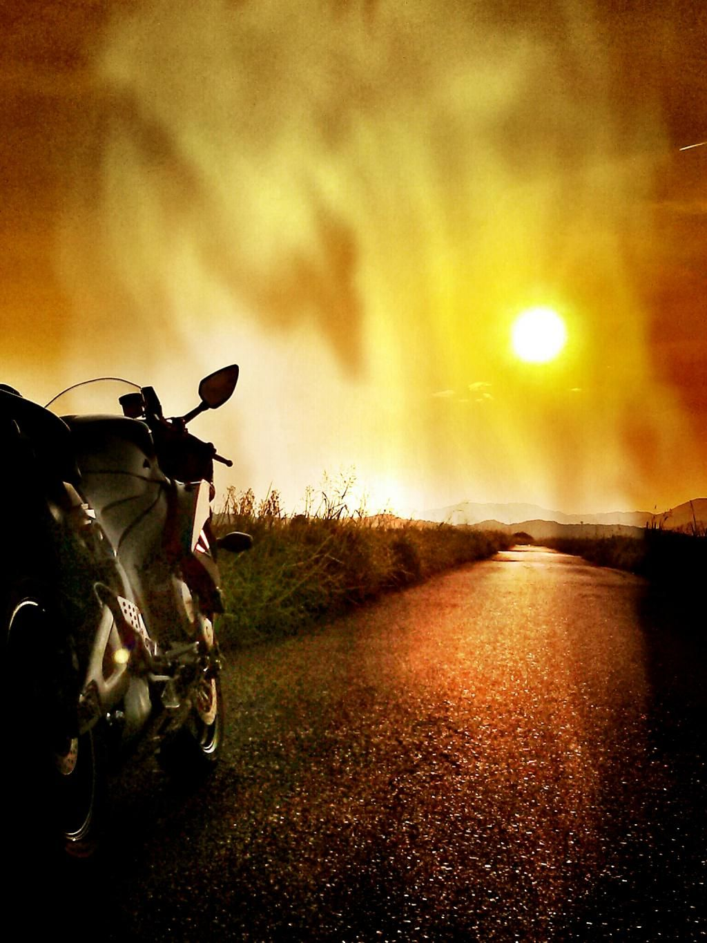Is It Spring Yet I Wanna Ride Off Into The Sunset Too With