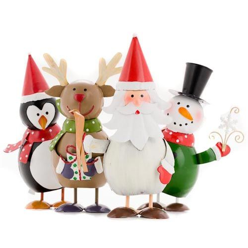Assorted wobbly xmas characters poundland missed these need 2 visit again