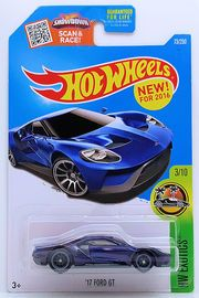17 Ford Gt Th 2016 Ford Gt Hot Wheels Matchbox