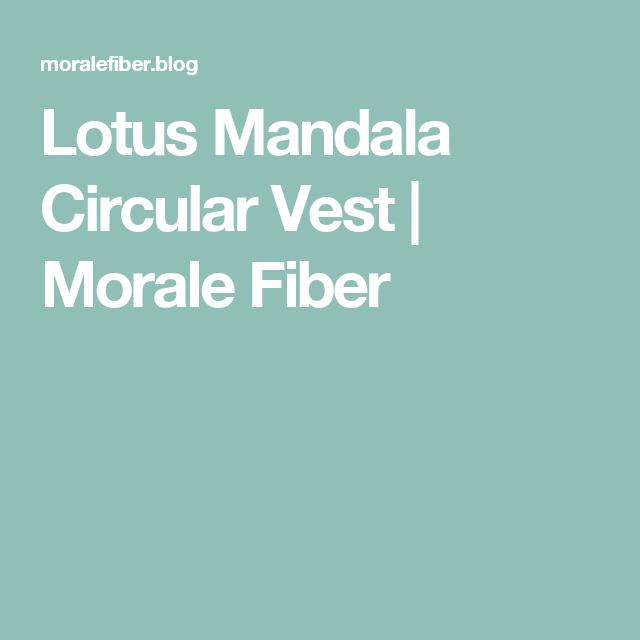 fb420bb7b14d8d Lotus Mandala Circular Vest