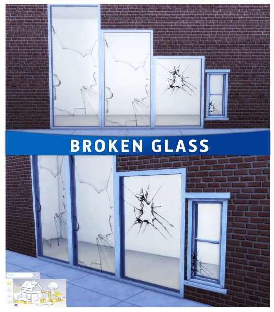 Sims 4 CC's - The Best: Broken Glass by Summer Annj | Sims | Sims 4