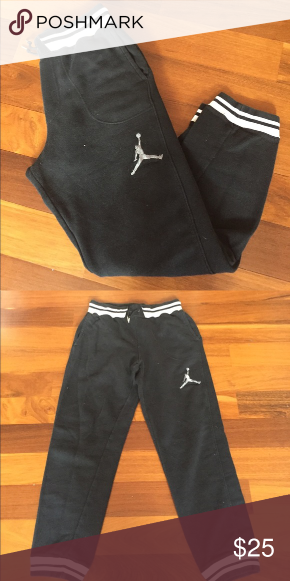 78fe1f6a295ded Jordan sweatpants black and white jordan sweat pants. Jordan Pants  Sweatpants   Joggers
