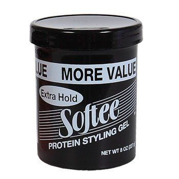 Softee Extra Hold Protein Styling Gel 8 Oz Protein Styling Gel Styling Gel Gel