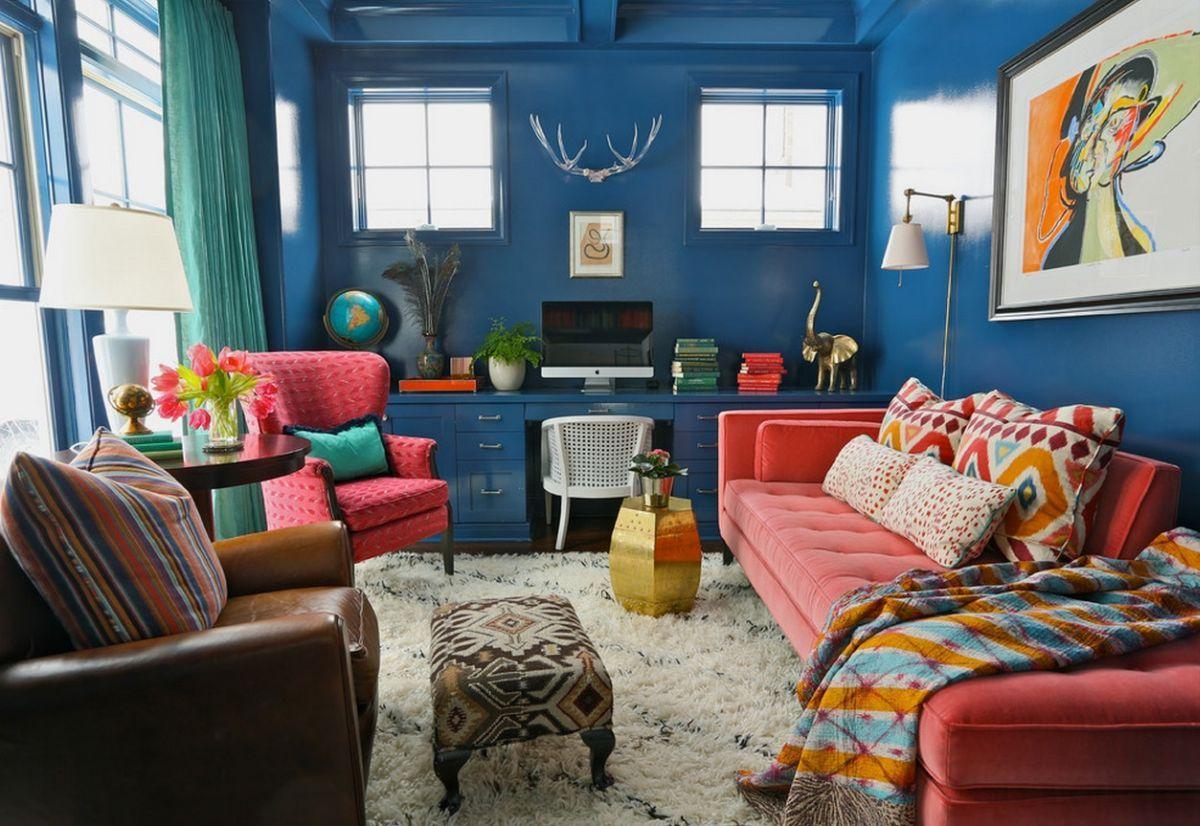 wandgestaltung mit farbe blau schattierungen, veränderungen tun gut! mit diesen 10 ideen vertreiben sie die, Design ideen