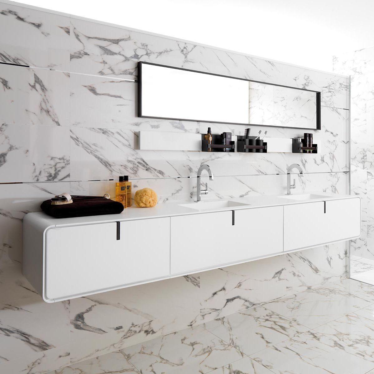 Doppel-Waschtischunterschrank / hängend / Holz / modern CICLO ... | {Waschtischunterschrank modern 27}