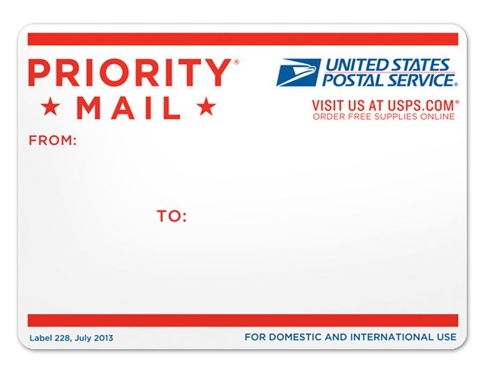 Priority mail!