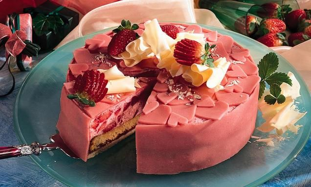 Rezept kuchen erdbeere marzipan