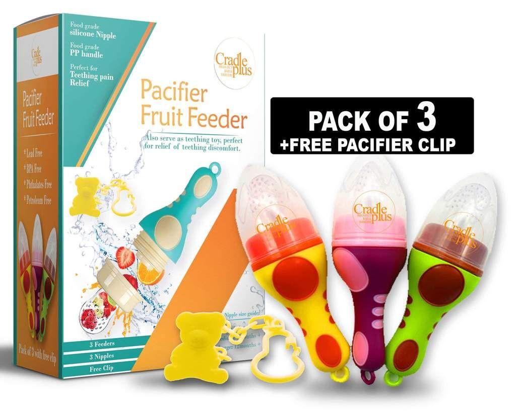 Fruit pacifier baby food feeder baby fruit baby food