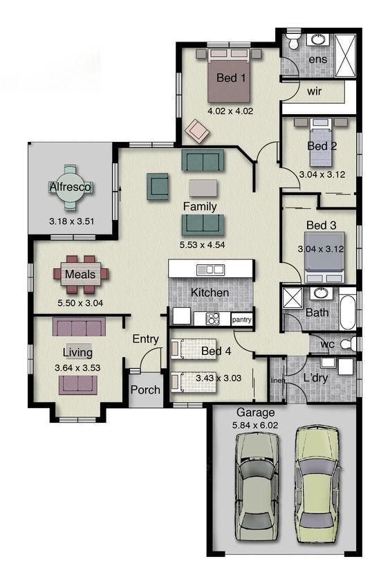 Modern Duplex House Designs Elvations Plans Single Story House Floor Plans Duplex House Plans House Layout Plans