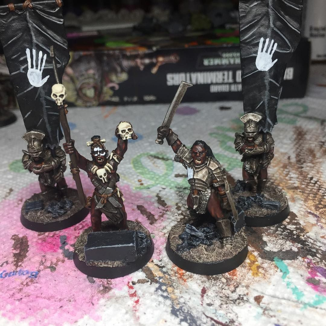 how to paint lotr miniatures
