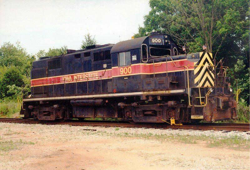 iowa interstate 900 alco rs 36 diesel locomotive in usa locomotives trains r seaux. Black Bedroom Furniture Sets. Home Design Ideas