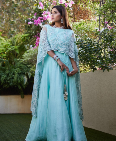 Loving MI from houseofmisu in our Mint pearl embroidered