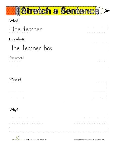 First Grade Reading & Writing Worksheets: Sentence Skills PracticeYou can find Sentence writing and