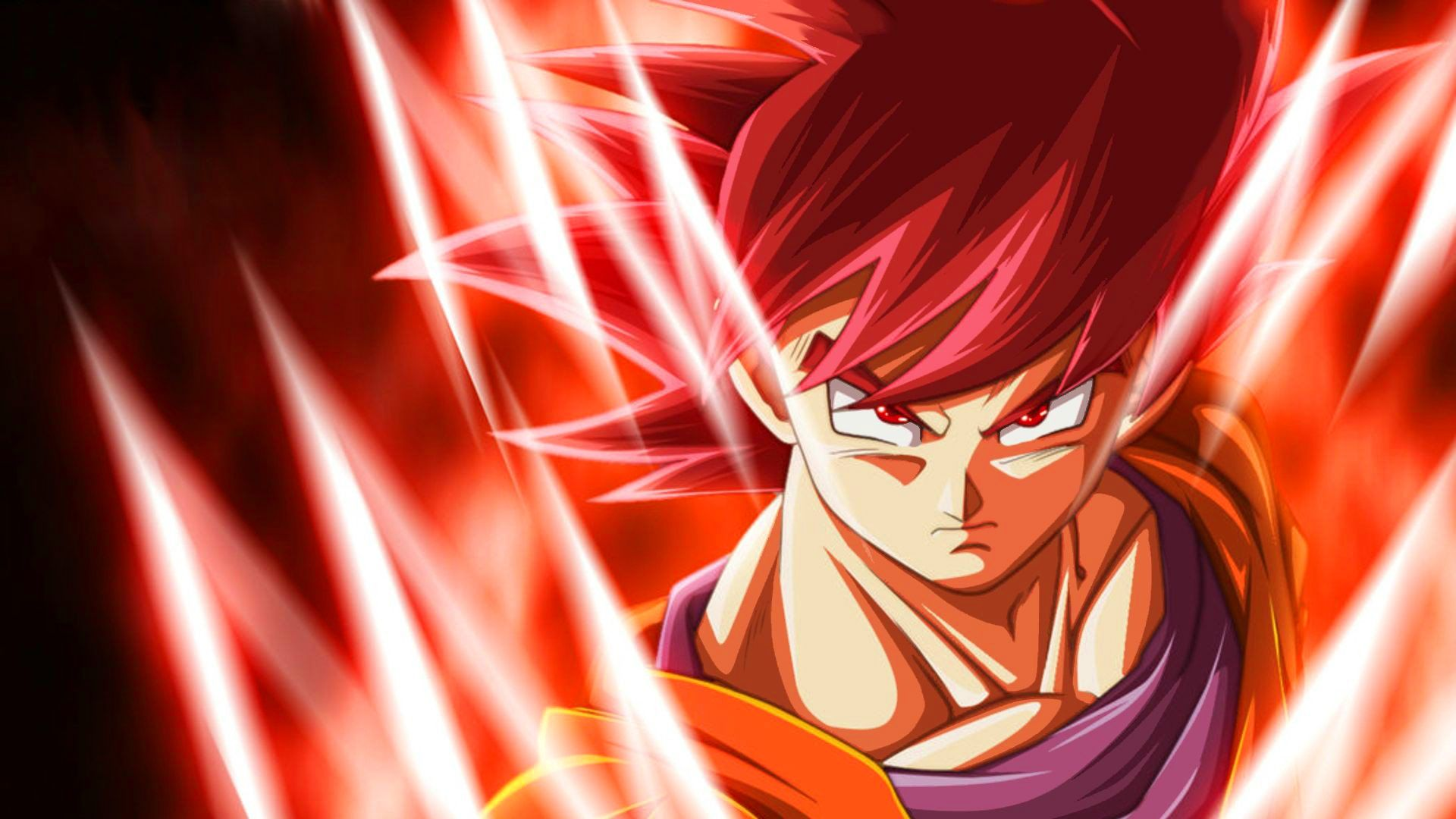 Free Goku Super Saiyan God Wallpapers Goku Super Saiyan God