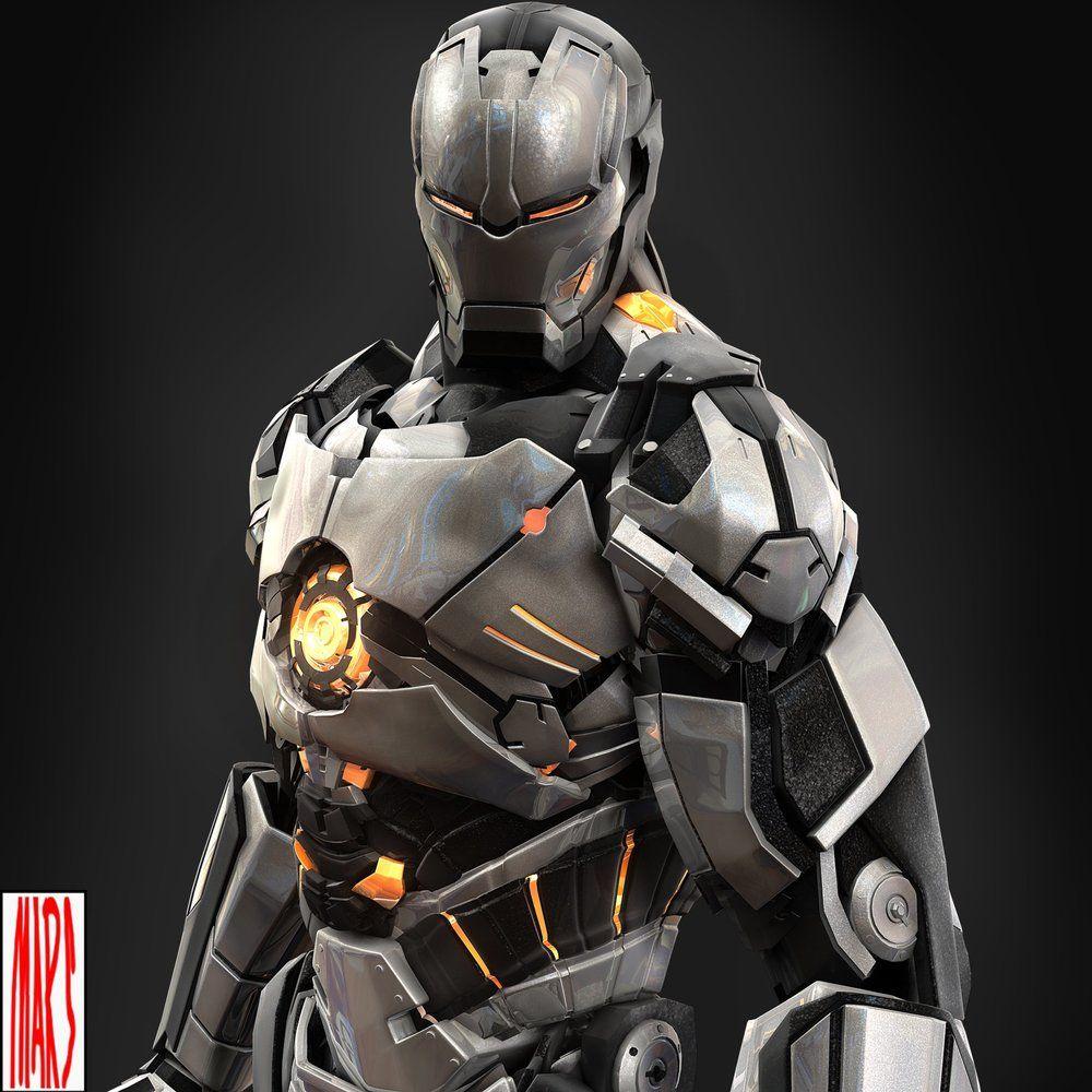 Slick IRON MAN Armor Designs by Mars   Google search, Iron ...