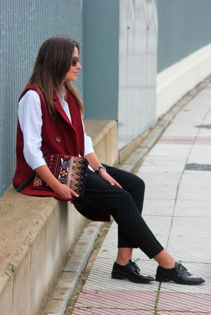 Un look con color marsala para cualquier ocasión, ¡nos encanta!