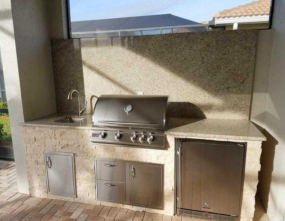 A Group Effort Outdoor Kitchen Elegant Outdoor Kitchens Outdoor Kitchen Outdoor Living Areas Backyard Bbq