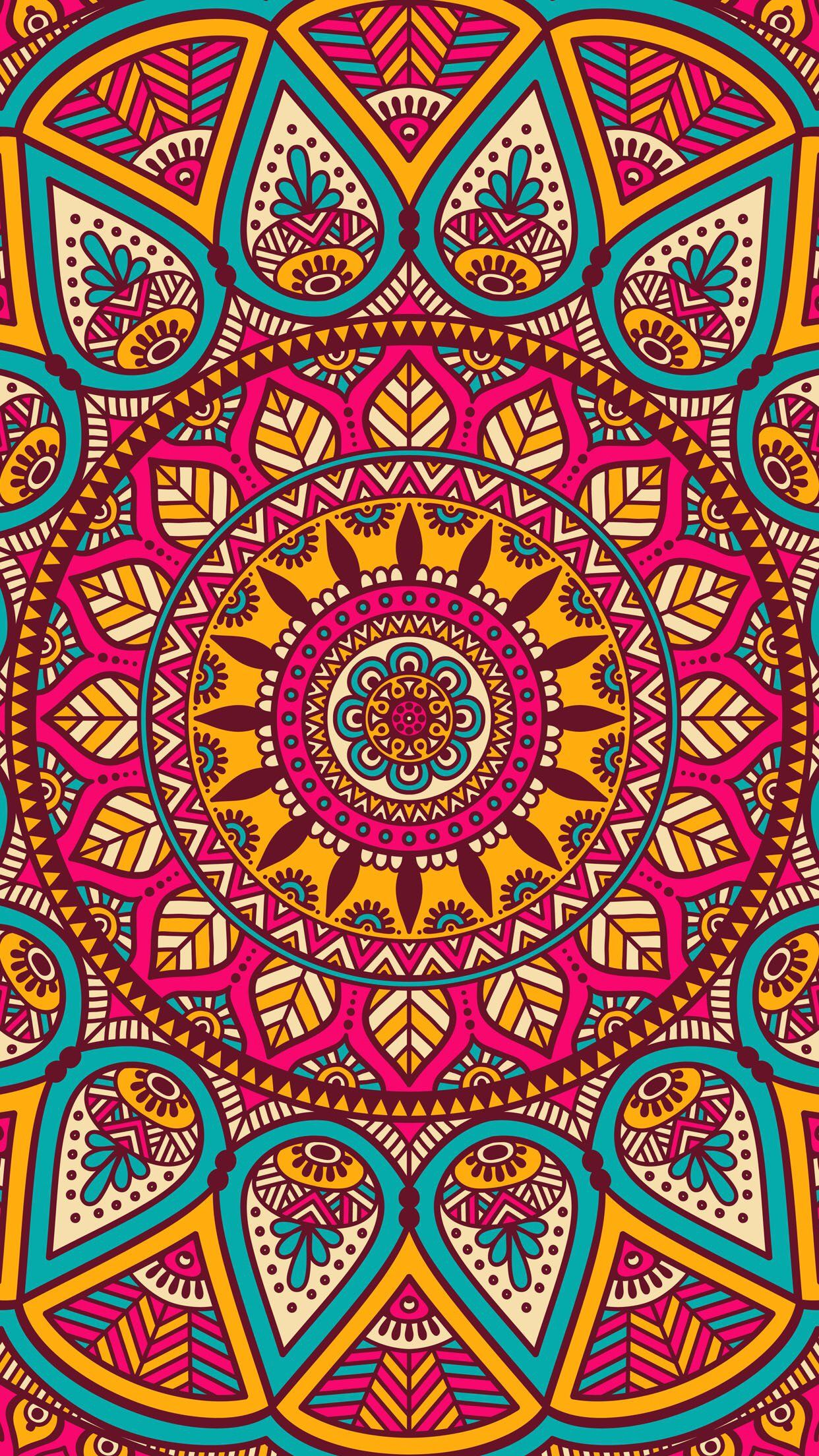 Wallpaper iphone mandala -  Patterns Mandalas Iphone Backgroundswallpaper
