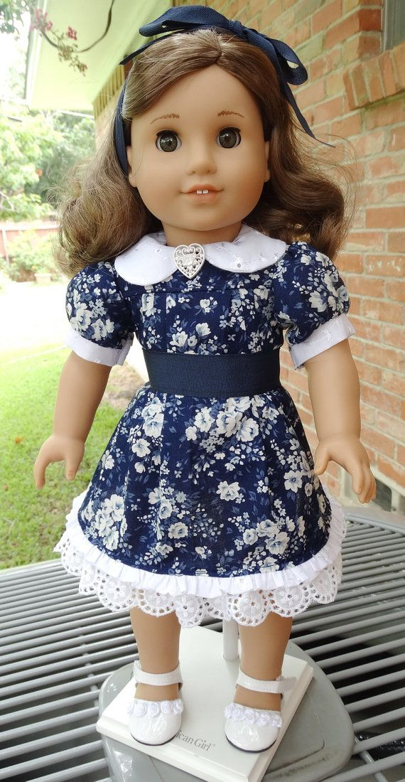 18 Doll Clothes Back to School Dress fits by Designed4Dolls | Doll ...
