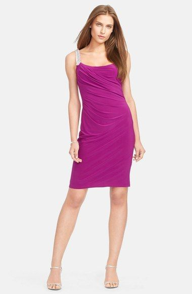 Lauren Ralph Lauren Matte Jersey Dress available at #Nordstrom