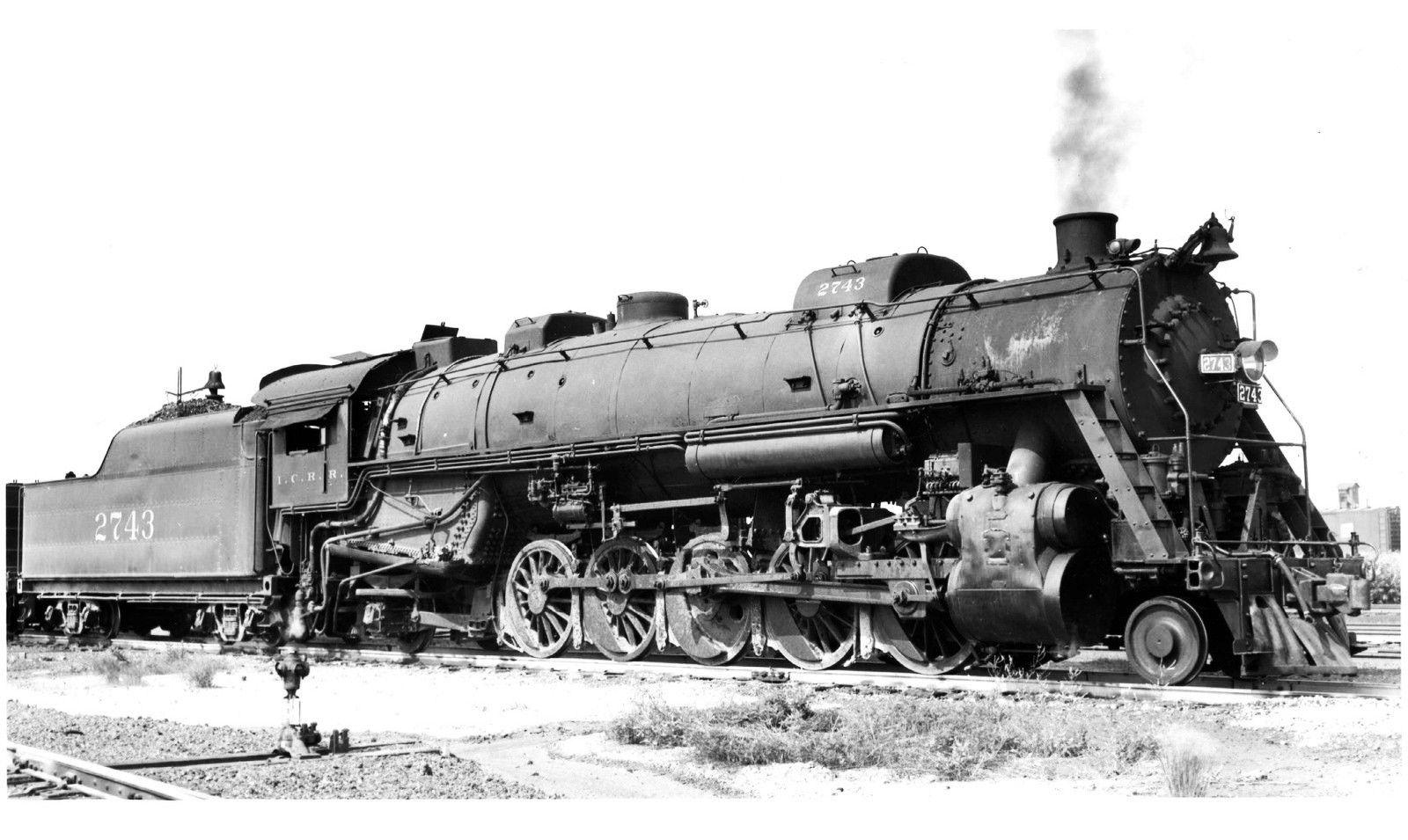 Icrr 2 10 2 Locomotive 2743 Train Engines Steam Locomotive Steam Trains