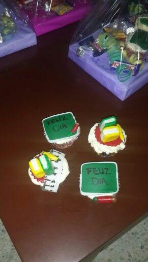 Cupcakes teacher day