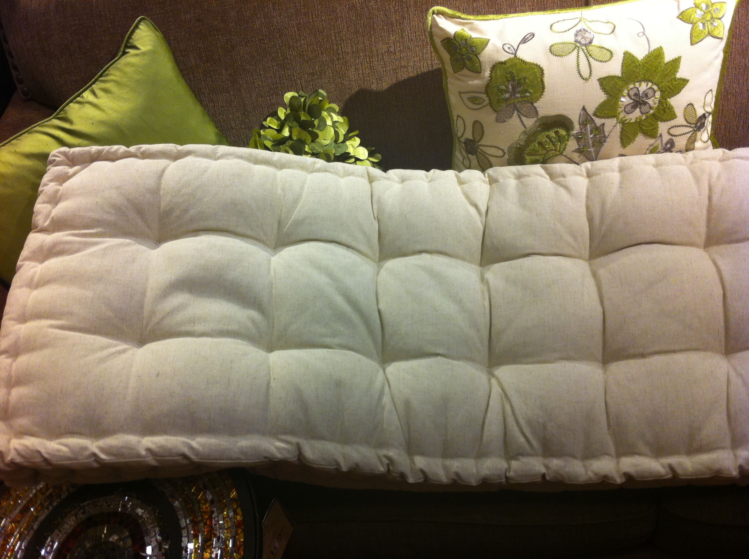 tufted bench cushion - Pier 1 For the Home Pinterest Tufted bench, Bench cushions and ...