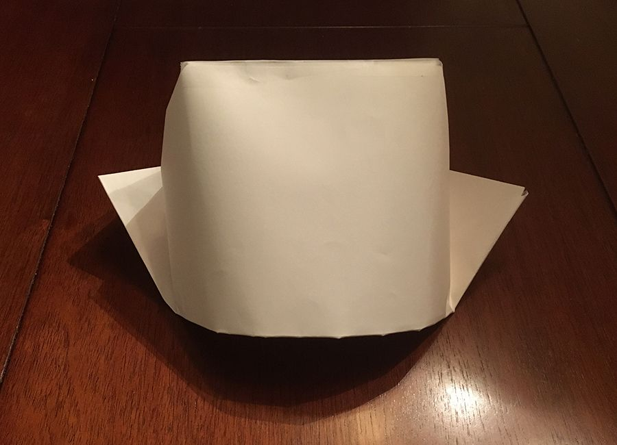 How to make a dutch hat out of paper past times history