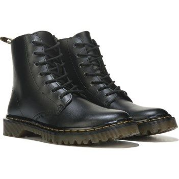 8cc92593790f5 Dr. Martens Women s Luana Combat Boot at Famous Footwear