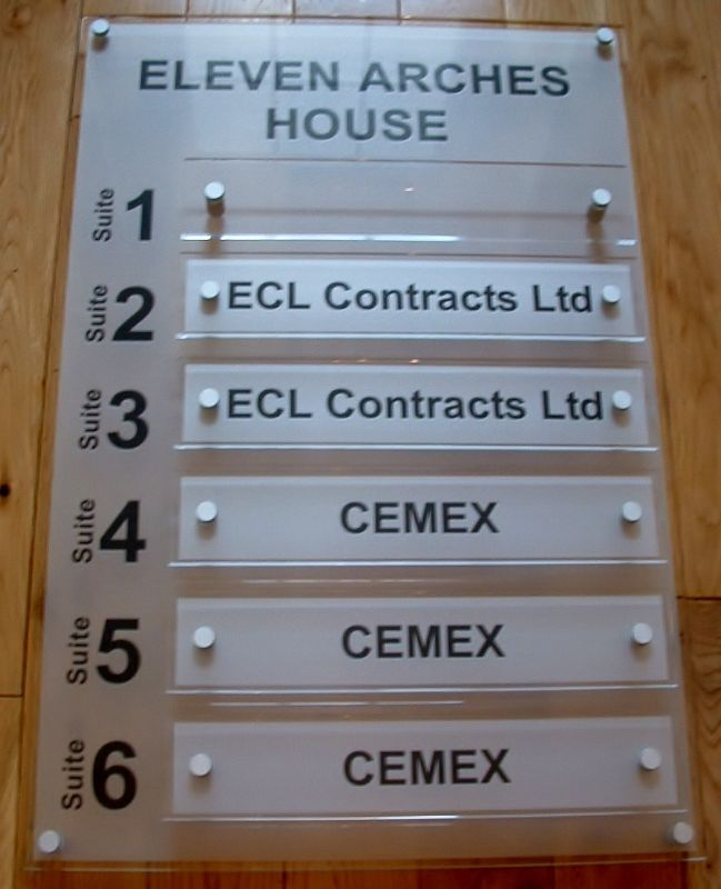 Office directory signs office wall signs for business directory