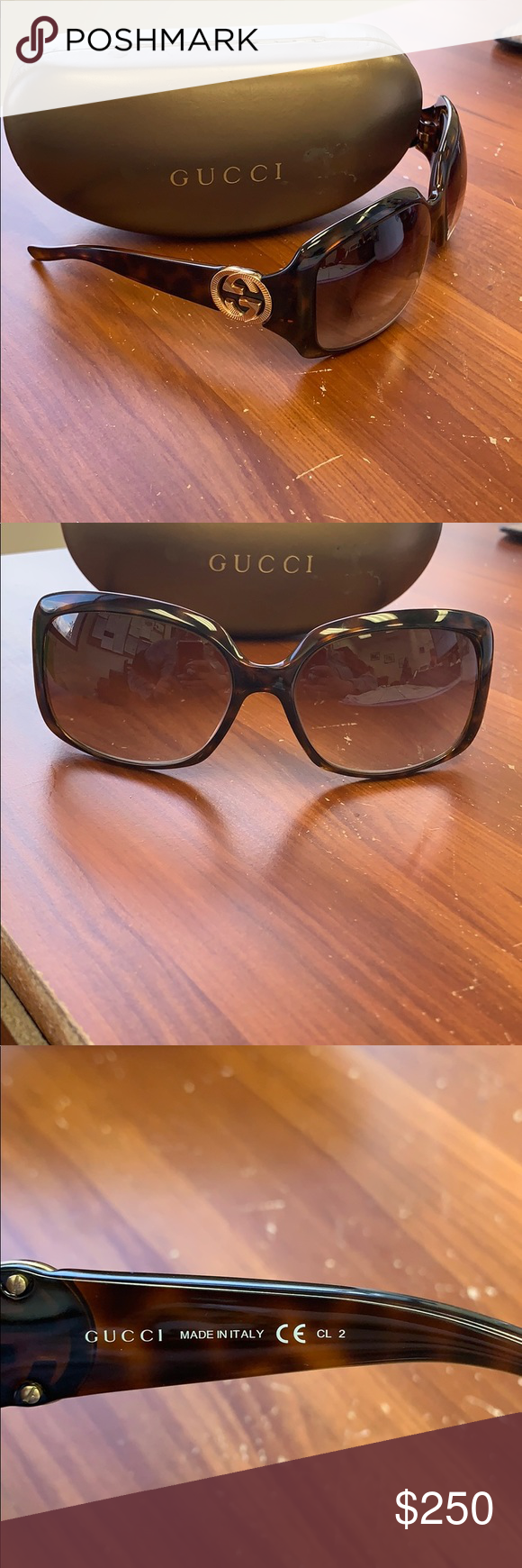 be31ab39e8a ⚜️EUC Authentic Gucci GG 3164 s Sunglasses ⚜ Like brand new! With
