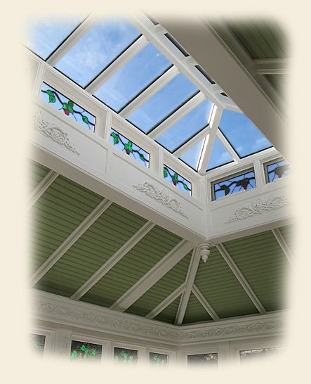 A Glass And Copper Cupola By Renaissance Lanterns Skylights Roof Lantern Cupolas Ceiling Design