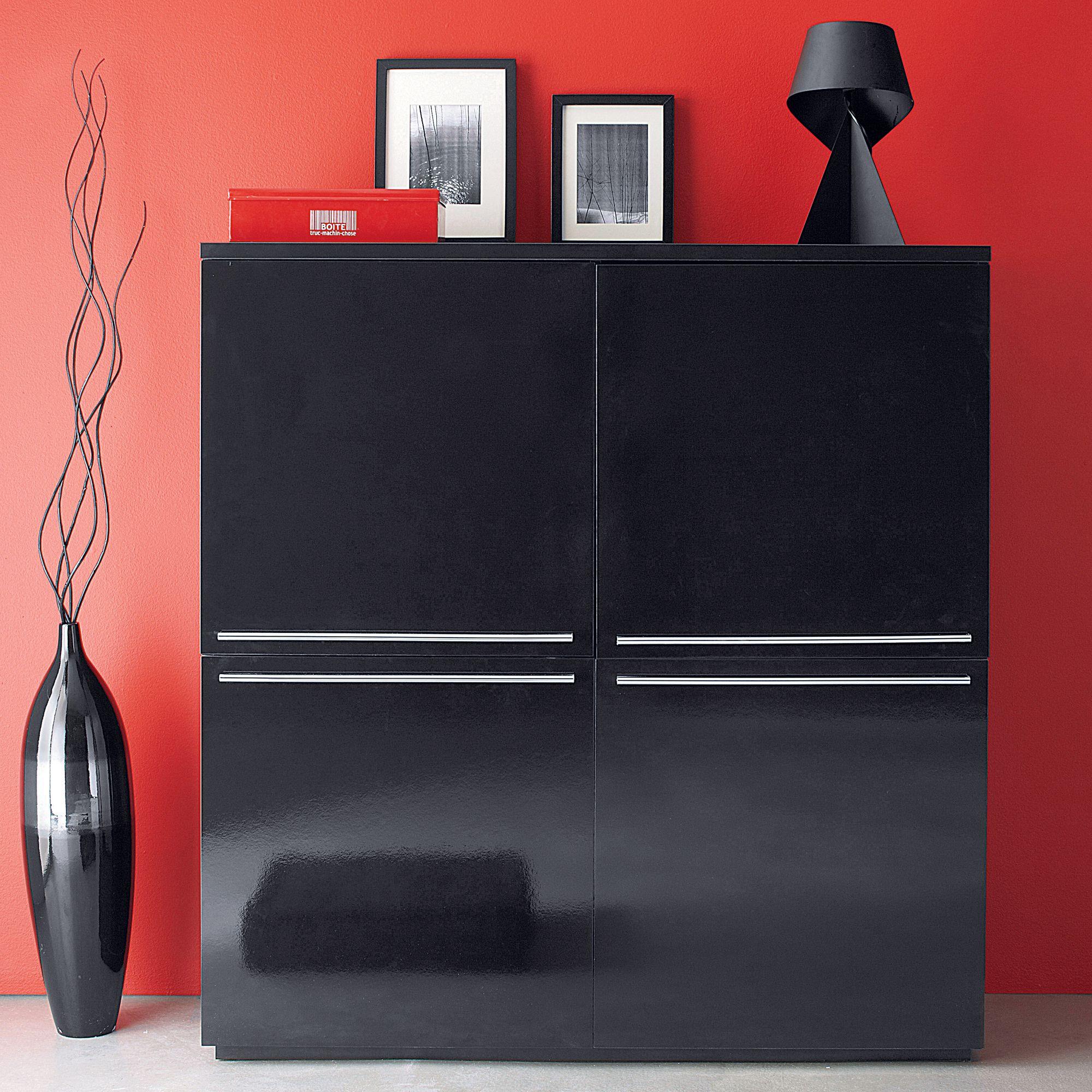 Meubles La Maison De Valerie Element De Rangement 4 Portes Modul Mobilier De Salon Rangement Et Maison