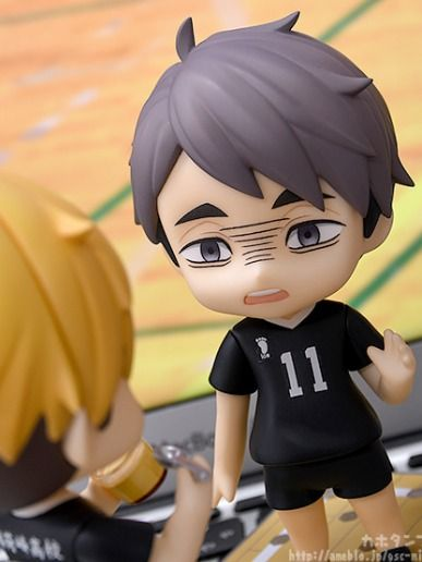 Haikyu! TO THE TOP: Atsumu Miya PRE-ORDER Orange Rouge Nendoroid