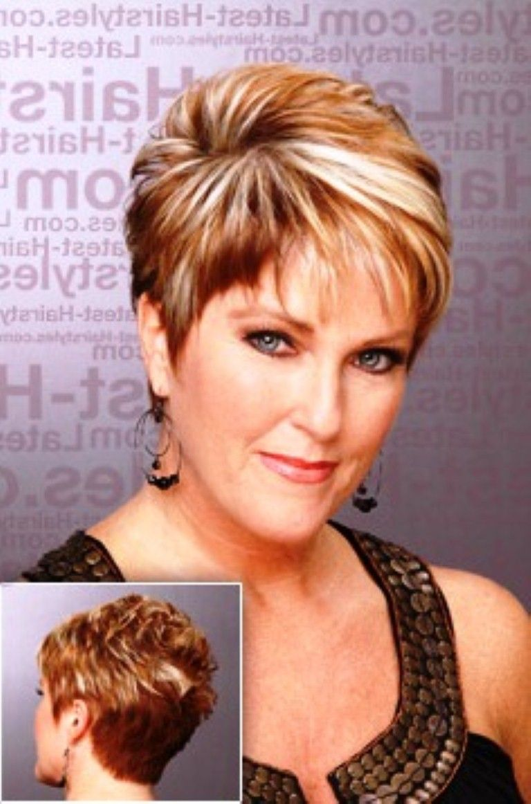 Short Hairstyles For Older Women With Fine Thin Hair