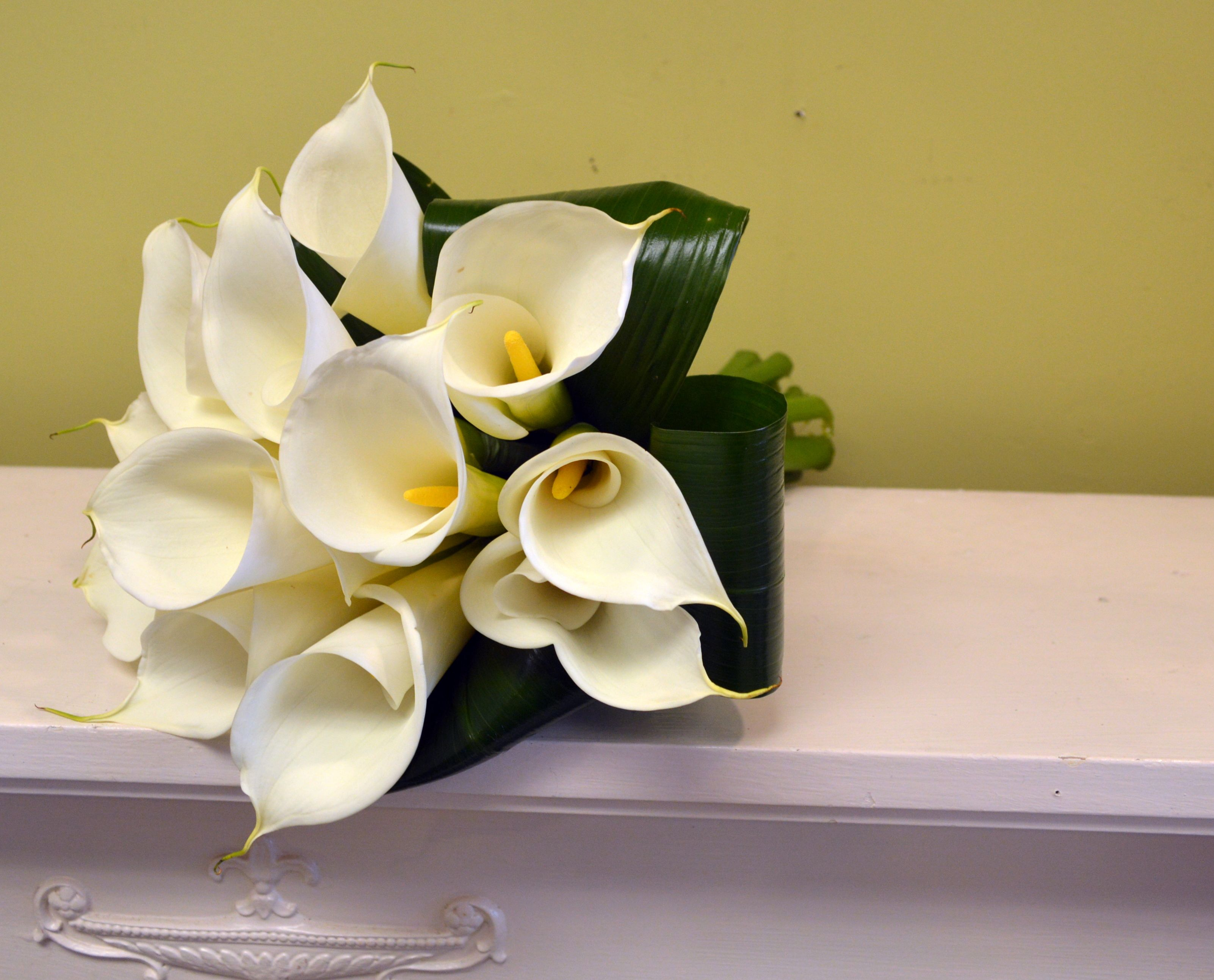 Calla lily bridal bouquet from chesters flowers in utica ny calla lily bridal bouquet from chesters flowers in utica izmirmasajfo Choice Image