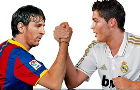 Cristiano Ronaldo Fighting With Lionel Messi In A Real