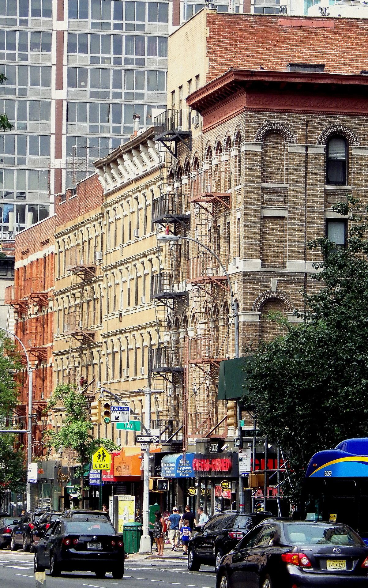 Apartment houses in Yorkville, Manhattan. | Yorkville nyc ...