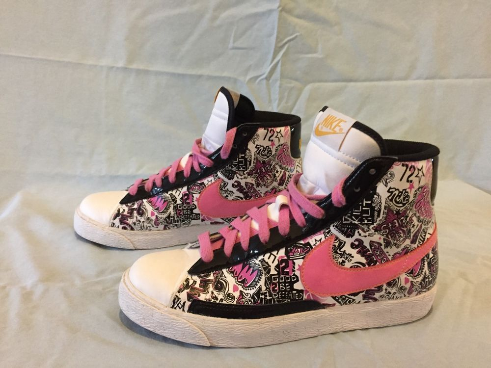 info for 19f5f c9718 eBay  Sponsored MINT Nike Blazer Mid Top Fashion Basketball Shoes Sneaker  325064-162 US SZ 6.5Y