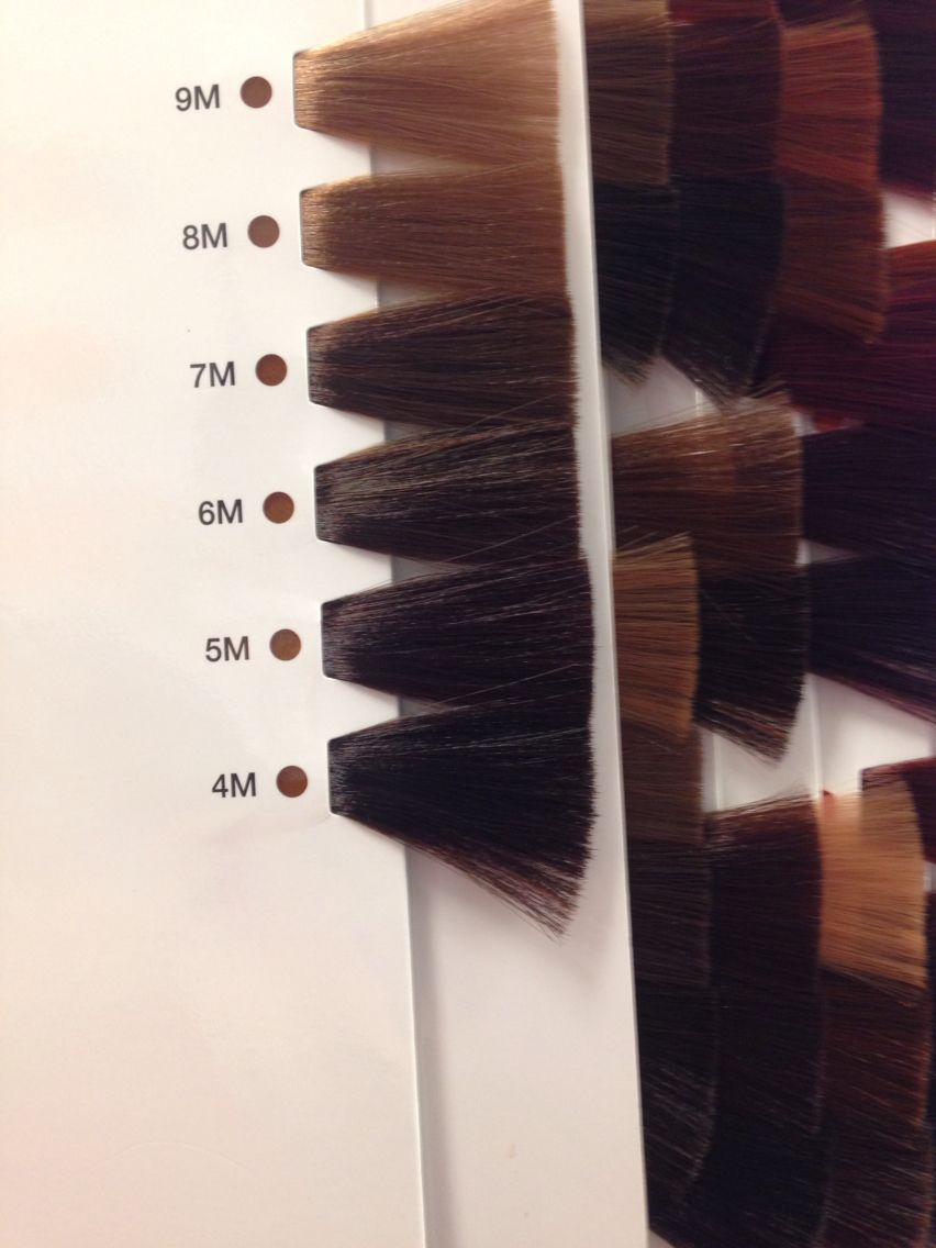 Matrix So Color Mocha Swatches Matrix Hair Color Mocha Color Hair Hair Color Swatches