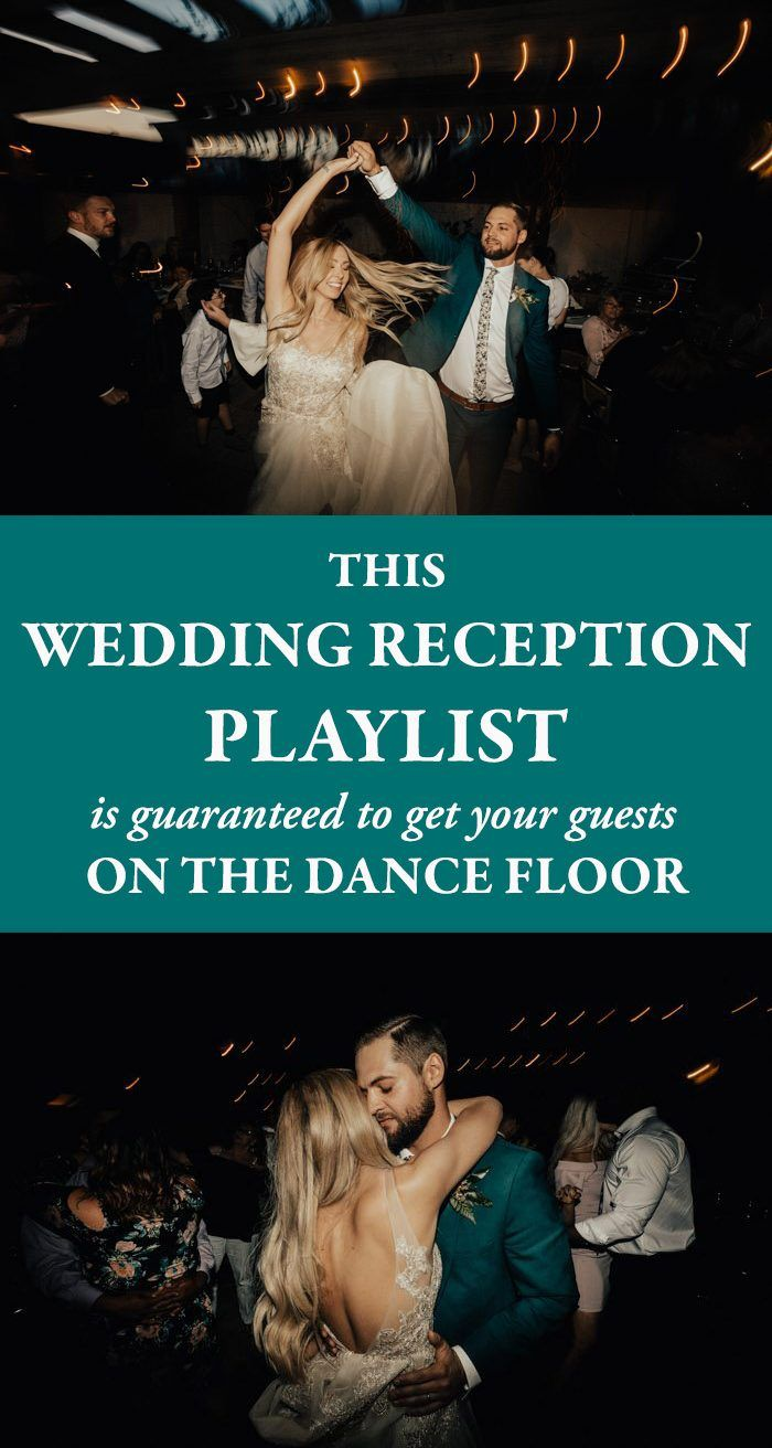 This Wedding Reception Playlist is Guaranteed to Get Your