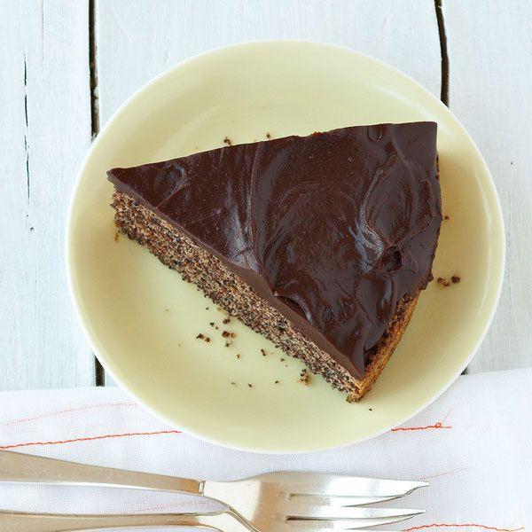 Schoko Mohn Torte Rezept Kuchen Und Torten Lebensmittel Essen Kekse Einfach