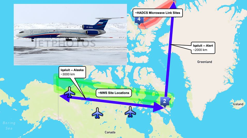Russian Air Force About To Conduct An Open Skies Treaty Observation Mission Over Canada S Arctic