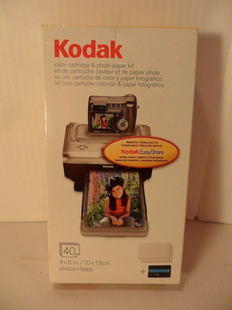 Kodak PH40 EasyShare Printer Color Cartridge Photo Paper