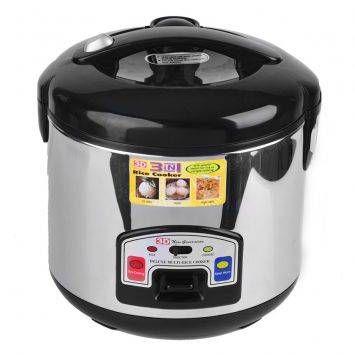 3d Rice Cooker Cfx 70ss Black Rice Cooker Cooker Kitchen