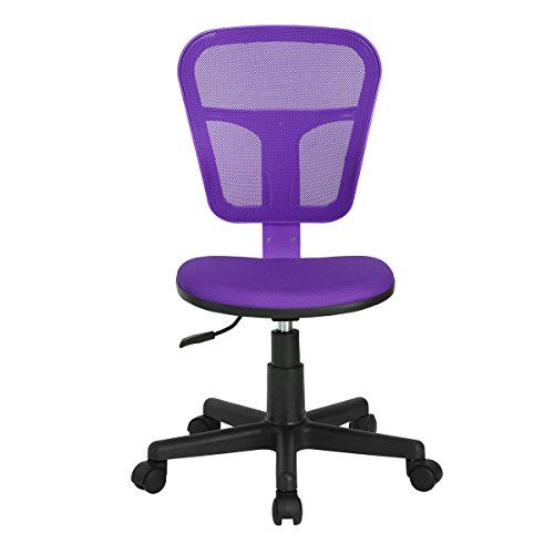 Ergonomical Midback Computer Desk Chair For Kids Teens Gaming Studying  Purple * Find Out More About The Great Product At The Image Link.Note:It Is  U2026